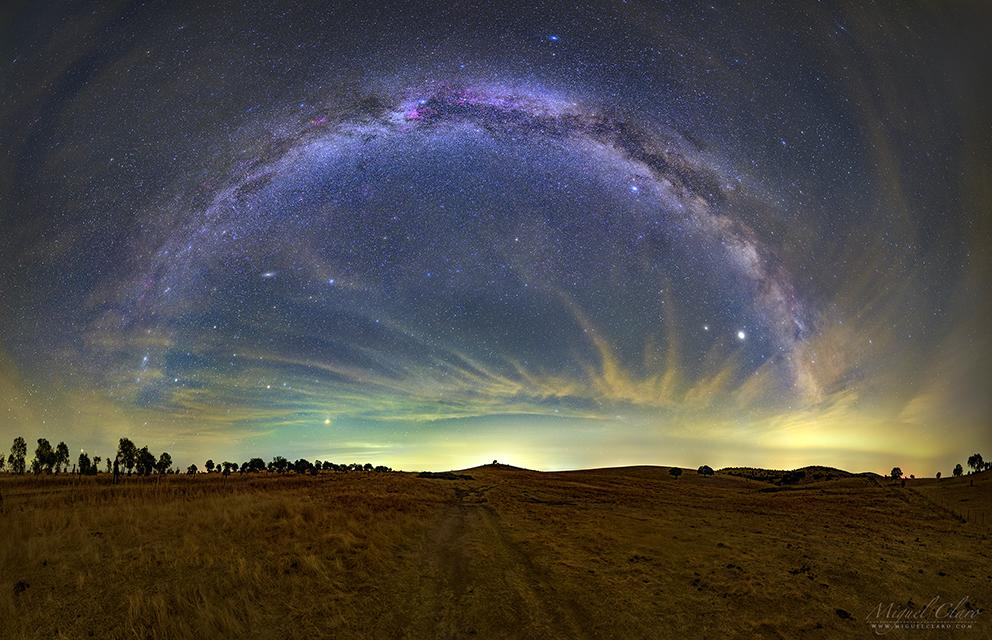 Milky Way Arc - Baixo Alentejo