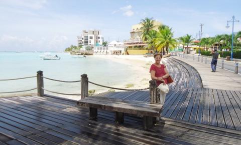 Em Barbados, muito sol e dolce far niente
