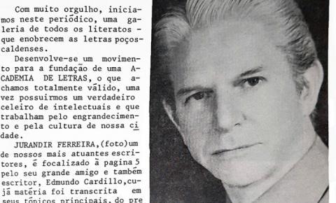 Escritores de Poços de Caldas - JURANDIR FERREIRA