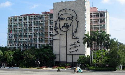 Primeira viagem à ilha de Fidel Castro