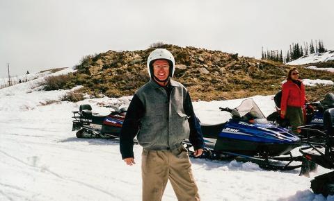 """""""Esquiando"""" em Park City, Utah"""